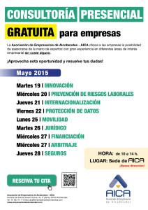 CARTEL CONSULTORÍA PRESENCIAL MAYO 2015