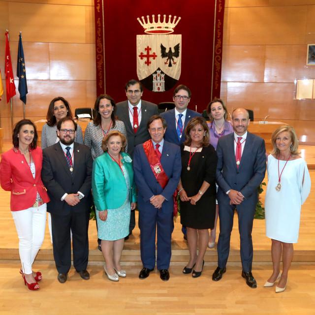 El gobierno municipal de Alcobendas se organiza en torno a cinco grandes áreas: innovación, desarrollo urbano, familia, calidad y nuevas oportunidades