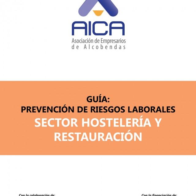 AICA recoge en una Guía los principales riesgos laborales y medidas preventivas en el sector de hostelería y restauración