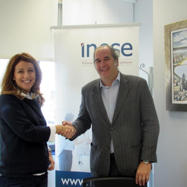 AICA e INESE inician una colaboración para informar a los empresarios sobre el sector asegurador