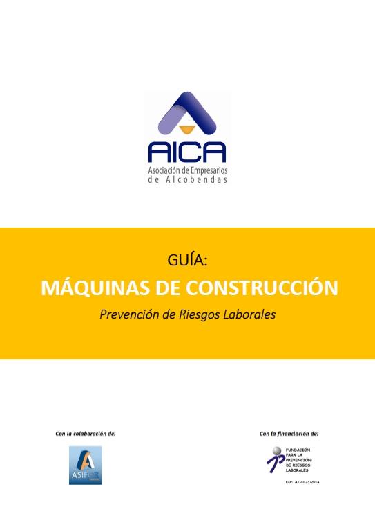 4T 2015 - Guia PRL Máquinas de construcción