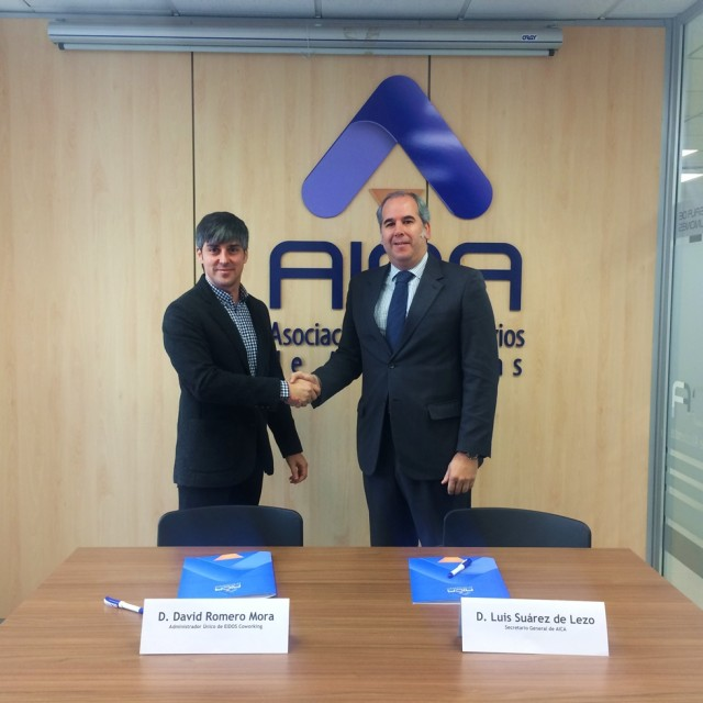 AICA firma un convenio con Eidos Coworking