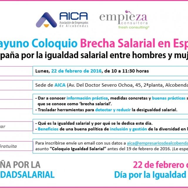 Desayuno Coloquio: Brecha Salarial en España