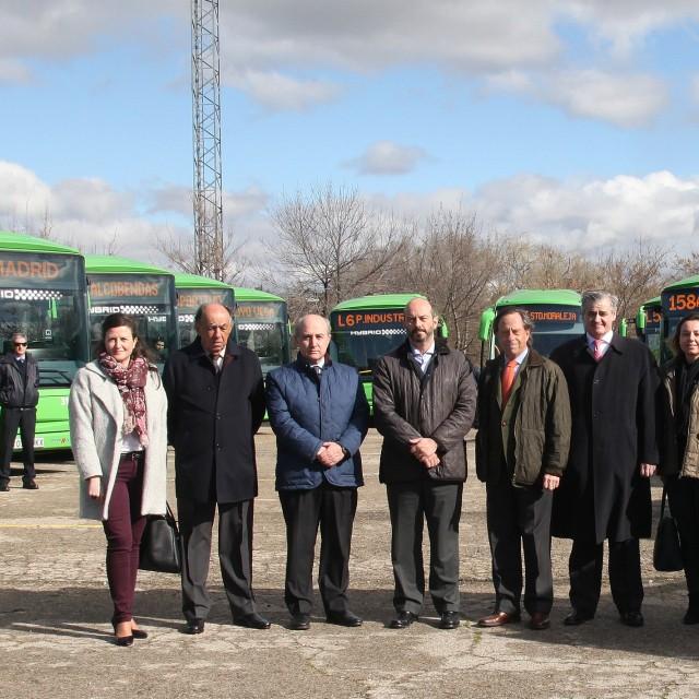 Nuevos autobuses híbridos para moverse por Alcobendas