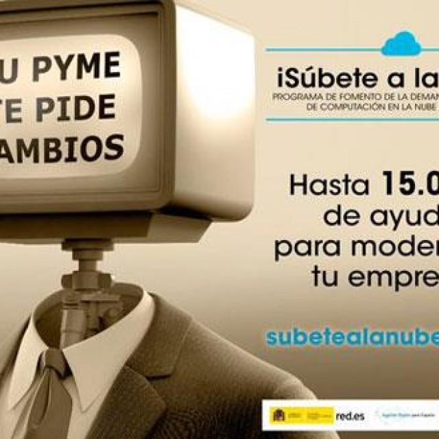 """El Ministerio de Industria, Energía y Turismo pone en marcha la campaña """"Súbete a la nube"""""""