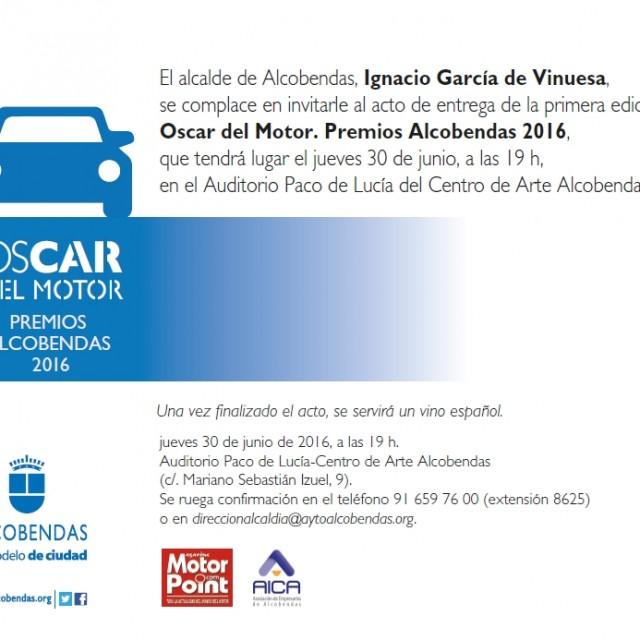 Premios OsCAR del Motor 2016