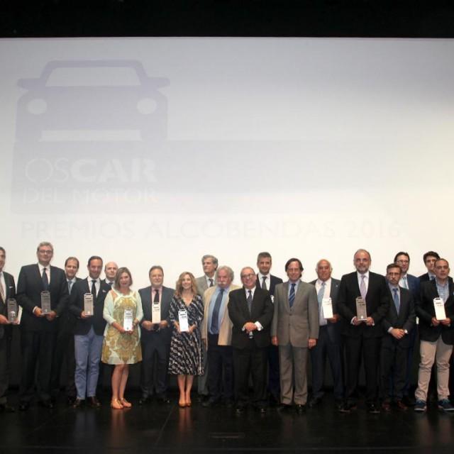 Alcobendas entrega los OsCar del Motor para reconocer a uno de los sectores económicos más pujantes
