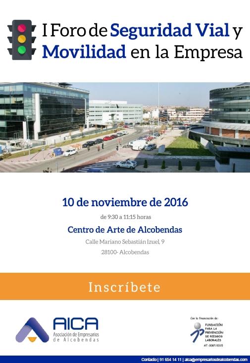 1º Foro de Seguridad Vial y Movilidad de AICA borrador v7