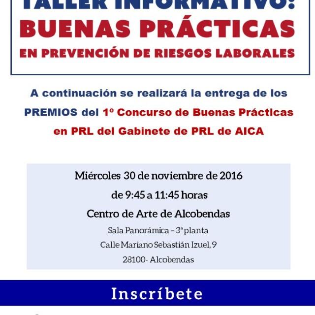 Taller Informativo: Buenas Prácticas en Prevención de Riesgos Laborales