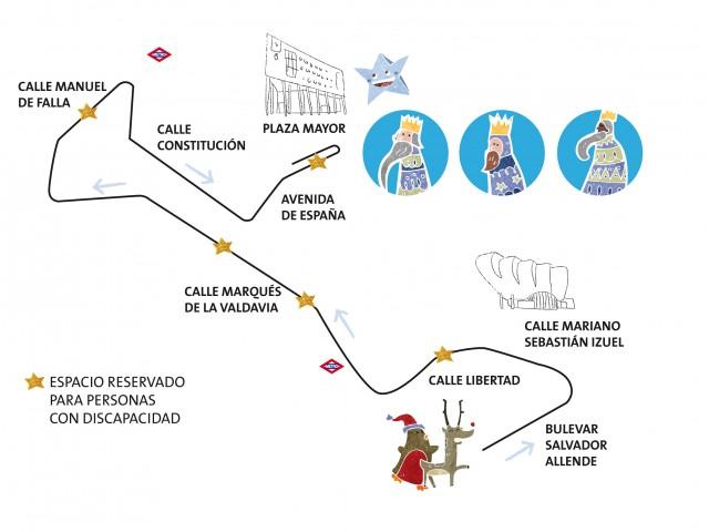 La Cabalgata de Alcobendas cambia su recorrido y será 'geolocalizable' mediante una aplicación