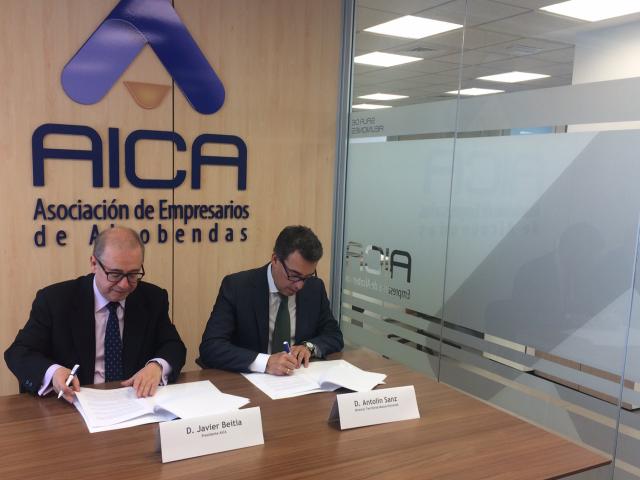 AICA y Mutua Universal colaborarán en actividades de formación