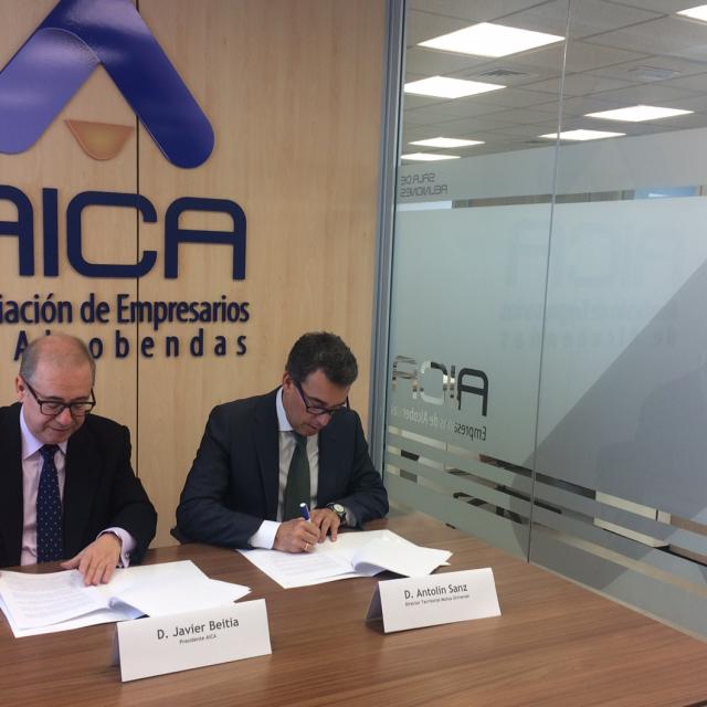 La Asociación de Empresarios de Alcobendas y Mutua Universal colaborarán en actividades de formación