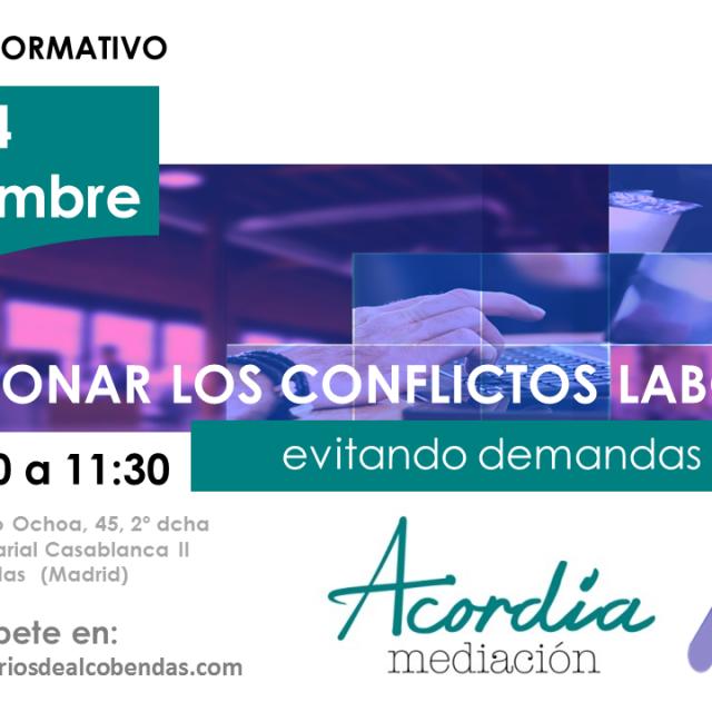 Jornada coloquio: Solucionar los conflictos laborales