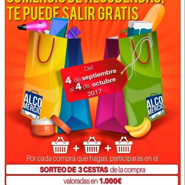 Campaña de comercio – Compra ahora en el comercio de Alcobendas, ¡te puede salir gratis!