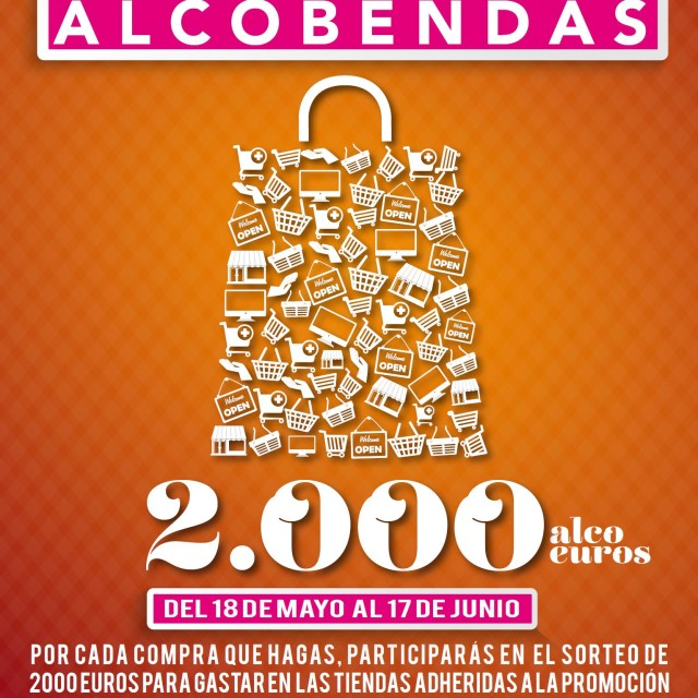 Un premio de 2.000 'alcoeuros' por comprar en el comercio minorista de Alcobendas