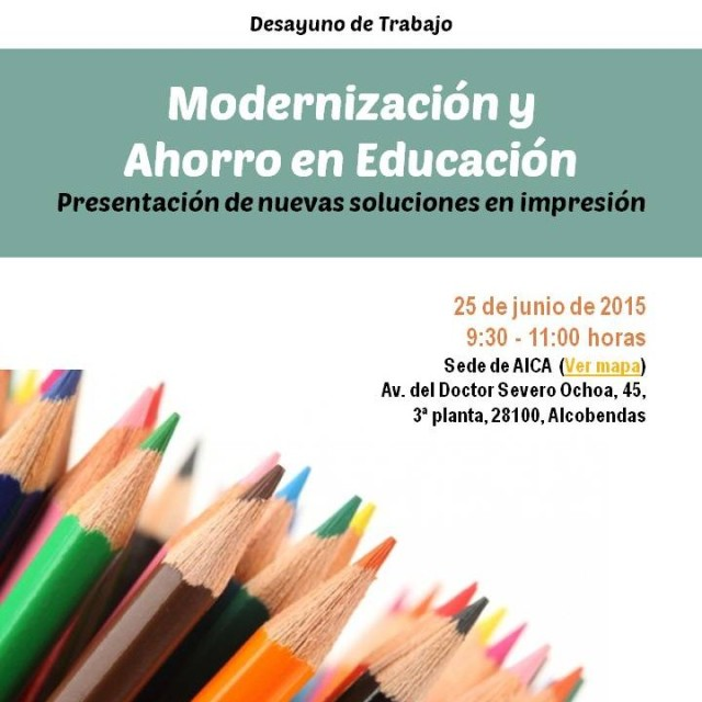 Desayuno de Trabajo: Modernización y Ahorro en Educación