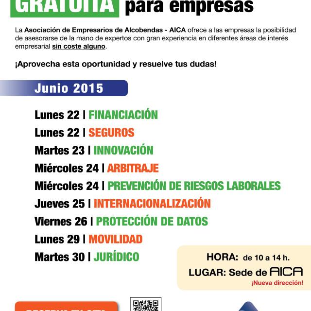 Consultoría presencial GRATUITA para empresas (del 22 al 30 de junio)