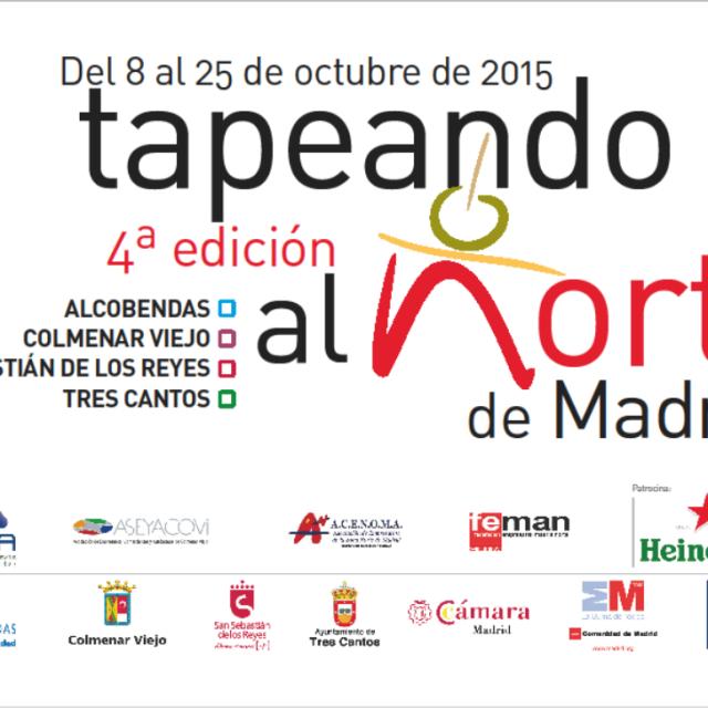 Abierto el plazo de inscripción a 'Tapeando al Norte de Madrid'