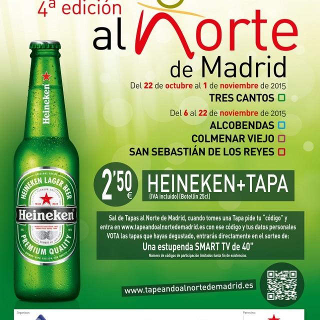 Tapeando al Norte de Madrid (4ª edición)
