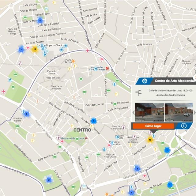 Moverse por Alcobendas, más fácil con el nuevo Mapa Interactivo municipal