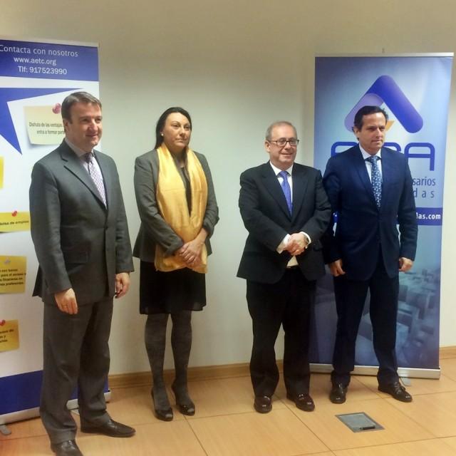 La zona norte de Madrid más competitiva con la alianza empresarial entre AICA y AETC