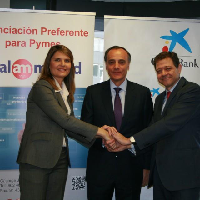 Avalmadrid y CaixaBank renuevan su línea de financiación para pymes y autónomos madrileños
