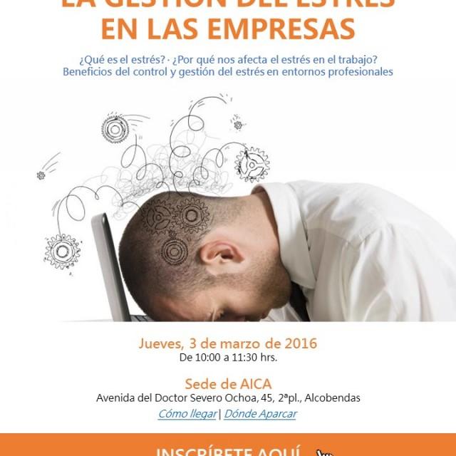 Taller PRL: La gestión del estrés en las empresas