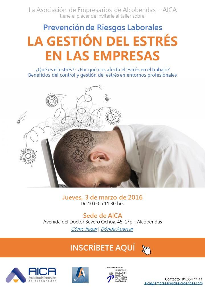 PR_Taller PRL. Gestión del Estrés en las empresas 3.3.2016 imagen 1