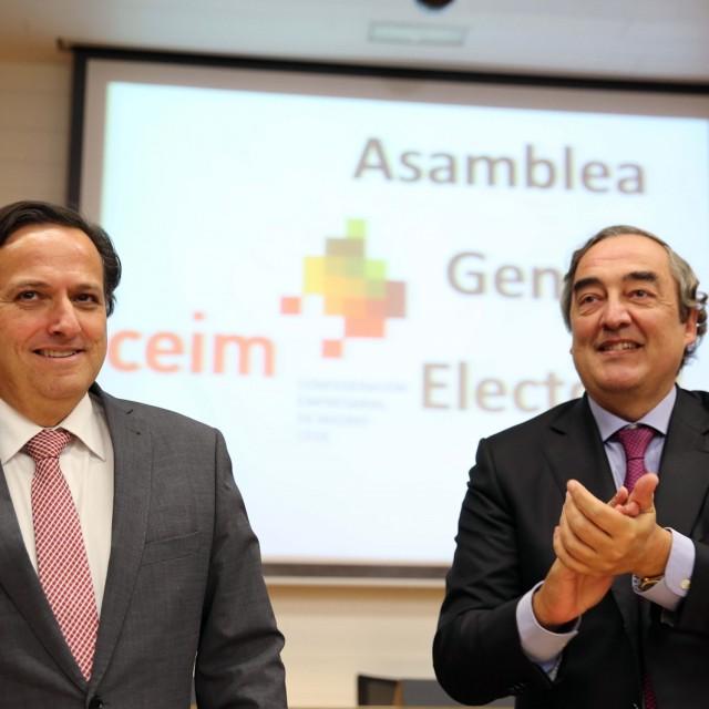 Juan Pablo Lázaro,reelegido como presidente de CEIM