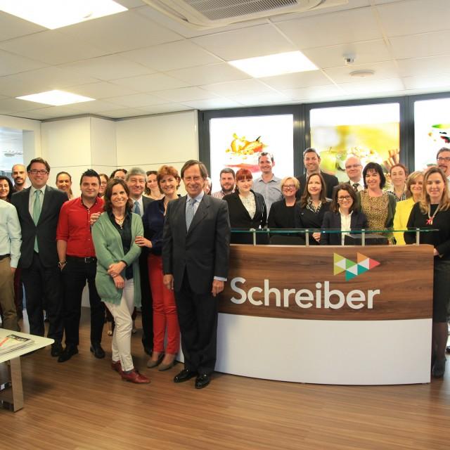 La compañía láctea Schereiber Foods se expande por Europa desde Alcobendas