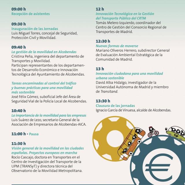 Jornada: Movilidad Inteligente, economía fuerte en Alcobendas