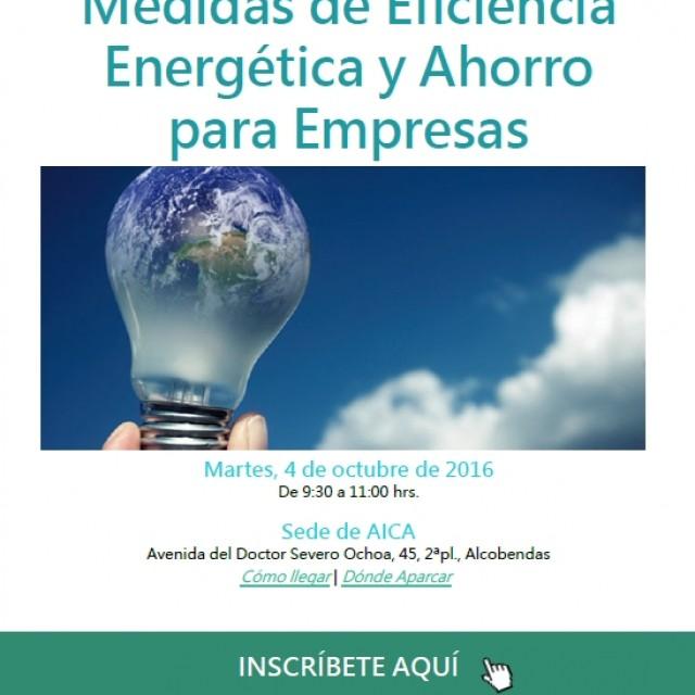Jornada: Medidas de Eficiencia y Ahorro para Empresas