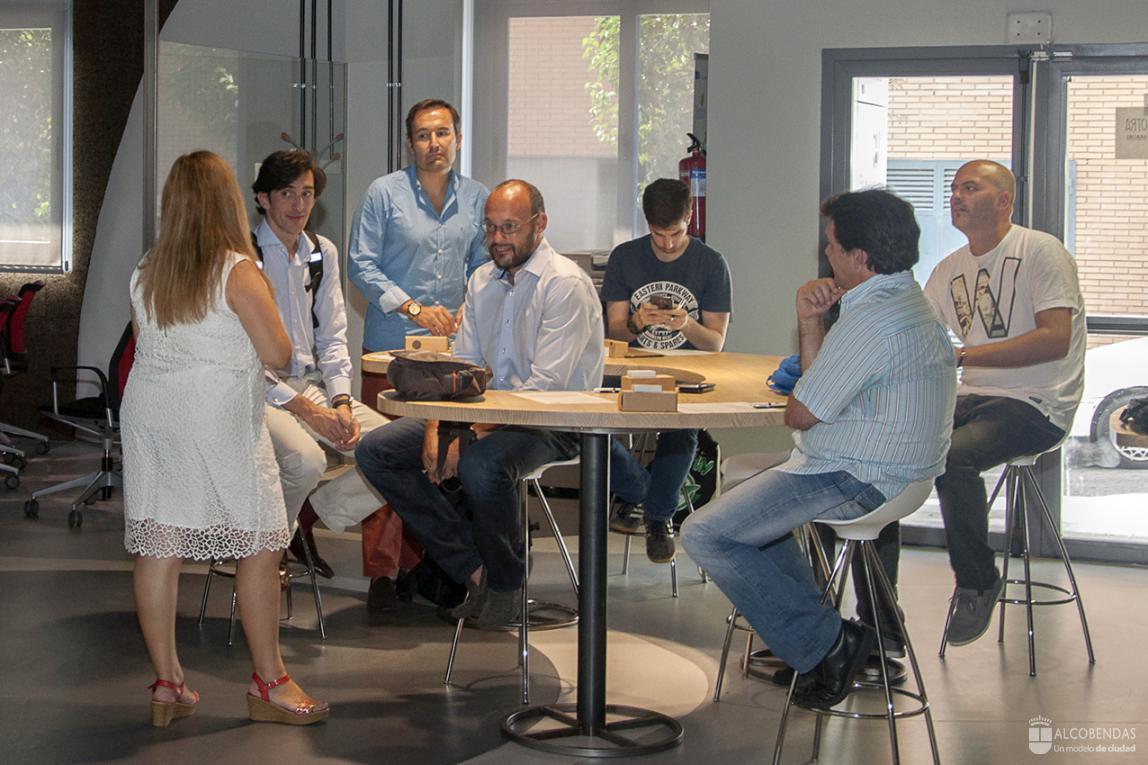 Startup alcobendas abre un espacio coworking para impulsar - Tapicero alcobendas ...