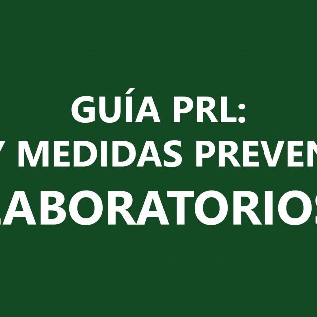 AICA publica la Guía PRL 'Riesgos y medidas preventivas en laboratorios'