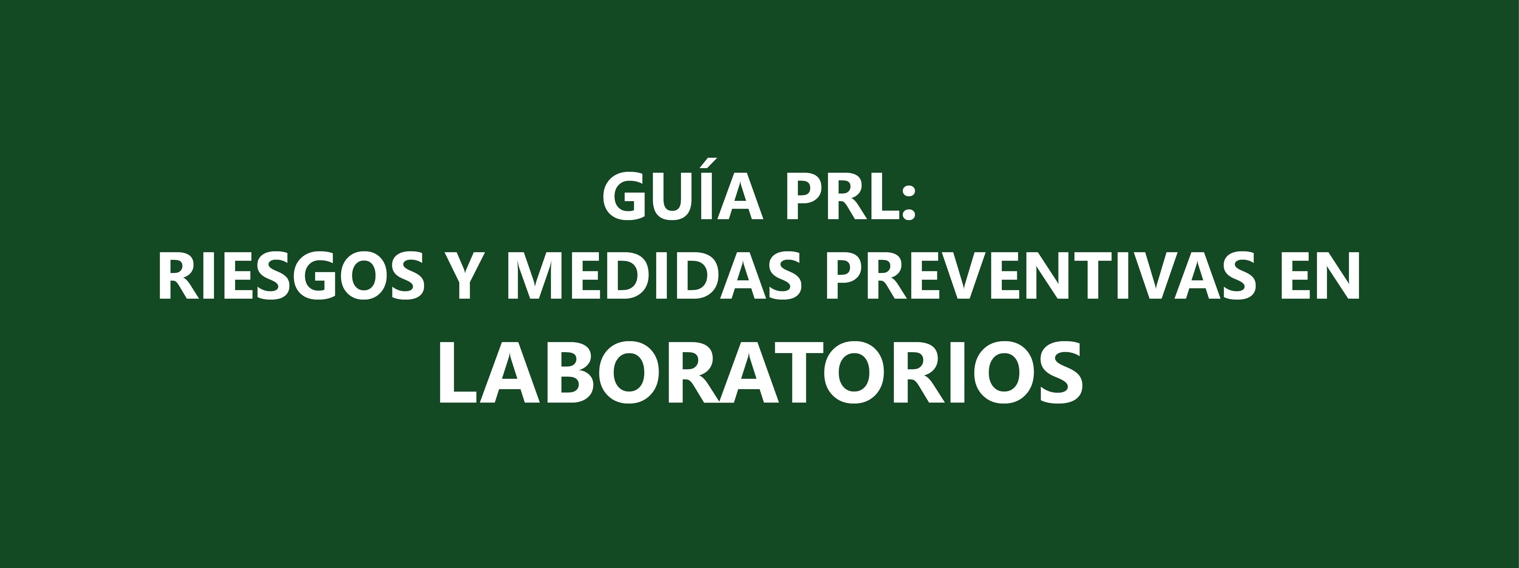 3T 2016 - Riesgos y medidas preventivas en laboratorios - copia