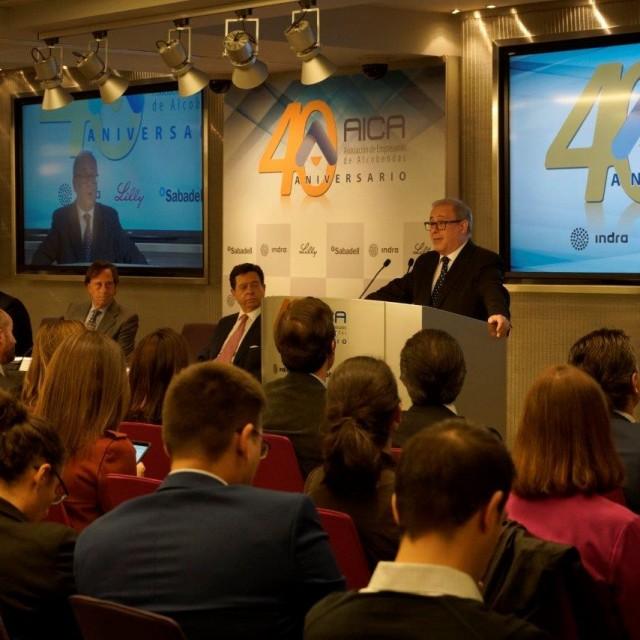 AICA, la Asociación de Empresarios de Alcobendas, celebra su 40 aniversario