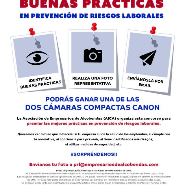 Últimos días para participar en el 'I Concurso de Buenas Prácticas en Prevención de Riesgos Laborales'