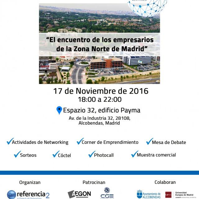Live Networking Madrid Norte: Encuentro para emprendedores y empresarios en Alcobendas