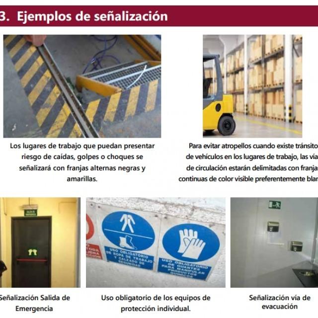 Nueva guía de PRL sobre señalización de centros de trabajo