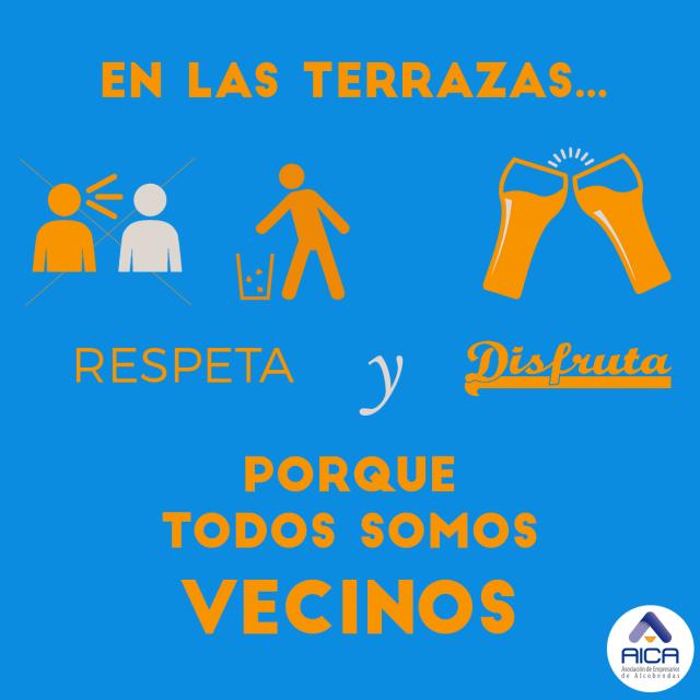 La Asociación de Empresarios de Alcobendas lanza una campaña con los hosteleros para fomentar el buen uso de las terrazas