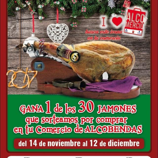 CAMPAÑA DE COMERCIO – 'Yo para ser feliz quiero un jamón'…  O treinta si compras en el comercio de Alcobendas