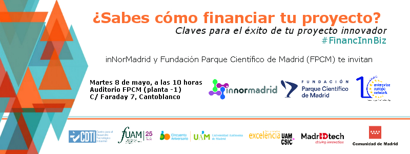 Banner jornada financiacion 8 de mayo_InNorMadrid_FPCM