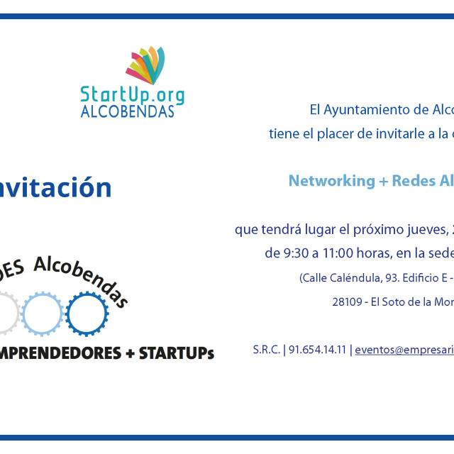 Networking + Redes Alcobendas