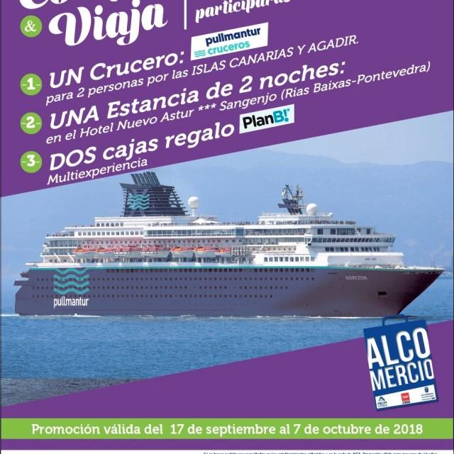 Los comercios de Alcobendas combaten el final del verano regalando un crucero entre sus clientes
