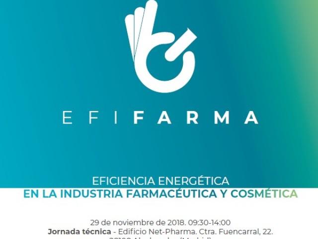 EFIFARMA 2018 analizará la evolución de la eficiencia energética en la industria farmacéutica y cosmética