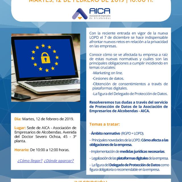 Jornada Protección de Datos – ¿Está tu empresa a salvo de las sanciones de la nueva LOPD?
