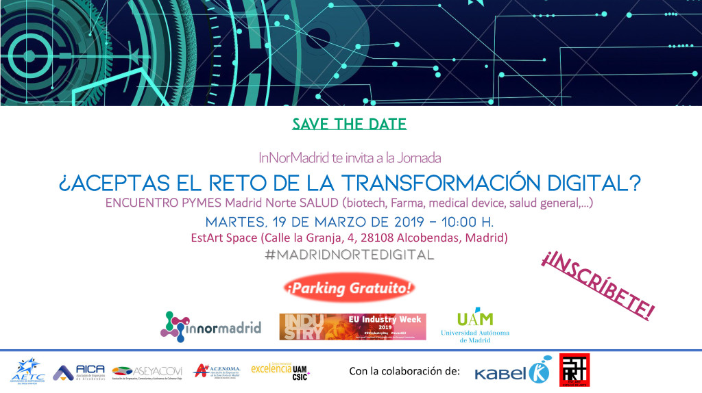 SAVE THE DATE - TRANSFORMACIÓN DIGITAL