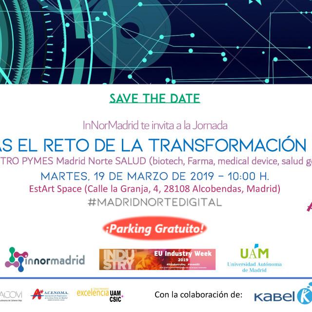 Jornada InNorMadrid – ¿Aceptas el reto de la transformación digital?