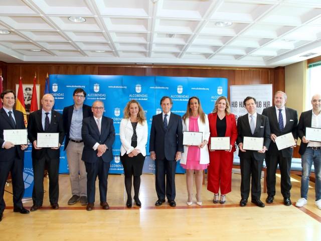 El Ayuntamiento de Alcobendas y Alcobendas HUB designan a los primeros Embajadores Empresariales de Alcobendas