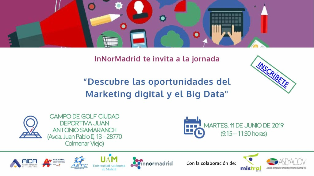 SAVE THE DATE - MADRIDNORTEDIGITAL 1106 ASEYACOVI